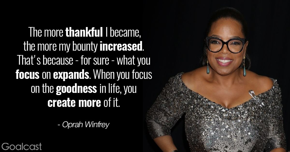 7 Oprah Winfrey Quotes to Charge Your Day with Gratitude