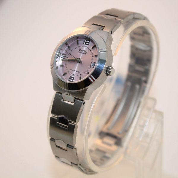Reloj Casio Multifunción Mujer Esfera Morada