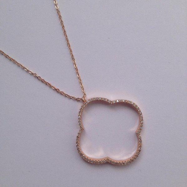 Leaf Necklace von Pour Toi Fine Jewelry auf DaWanda.com