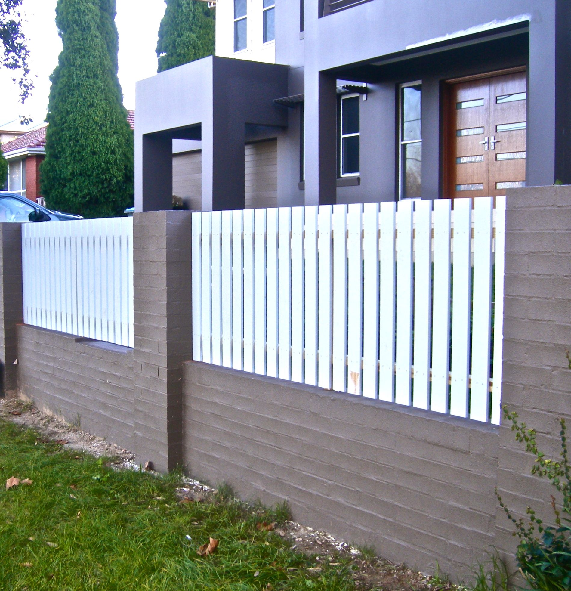 Simple Picket Fence: Picket Fence Panels, Fence