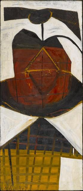 Young Girl Date- 1947 Related People- Artist- Robert Motherwell  American, 1915-1991. The North Carolina Museum of Art | by renzodionigi