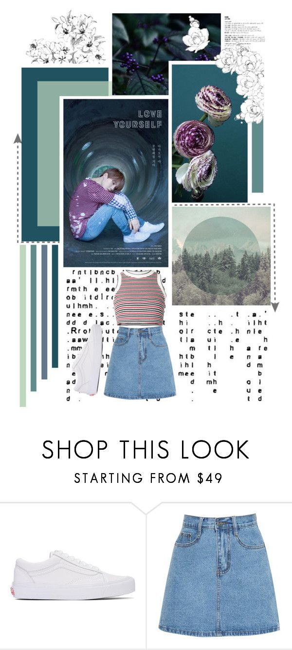 Love yourself yoongi unif vans and polyvore