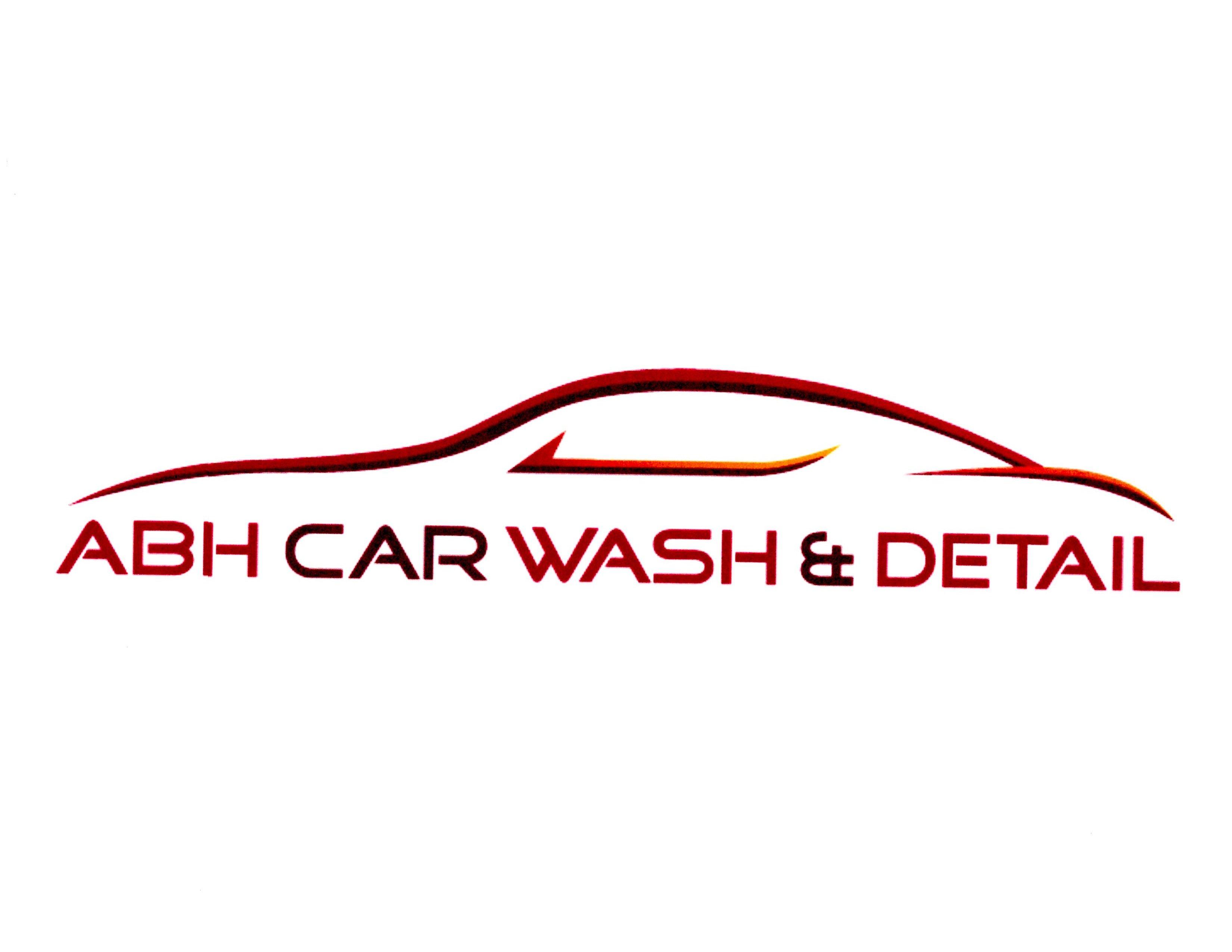 Abh Car Wash And Detail Logo Abhcarwash Abh Carwash Detailing