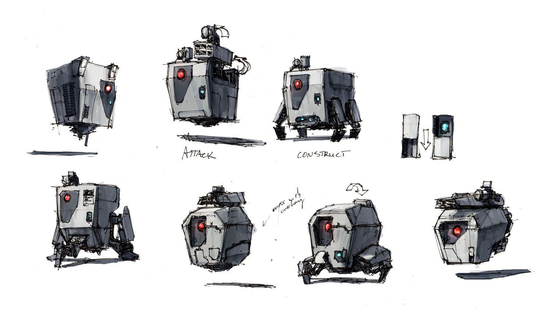 Resultado de imagem para borderlands robot