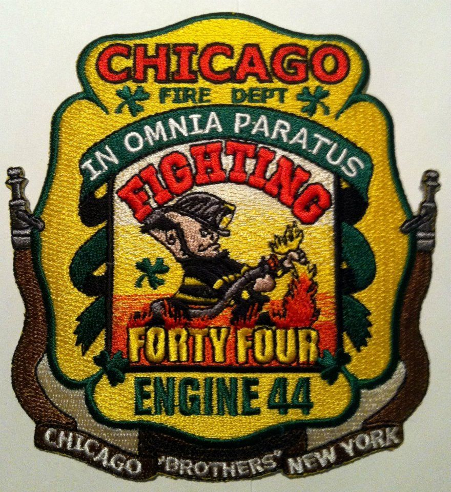 Chicago fire department engine 44 morale patches pinterest chicago fire department engine 44 biocorpaavc Images