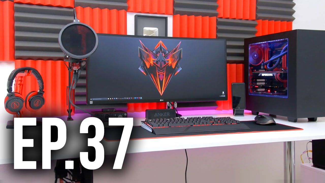 room tour project 37 - best gaming setups ft. techsource | arte