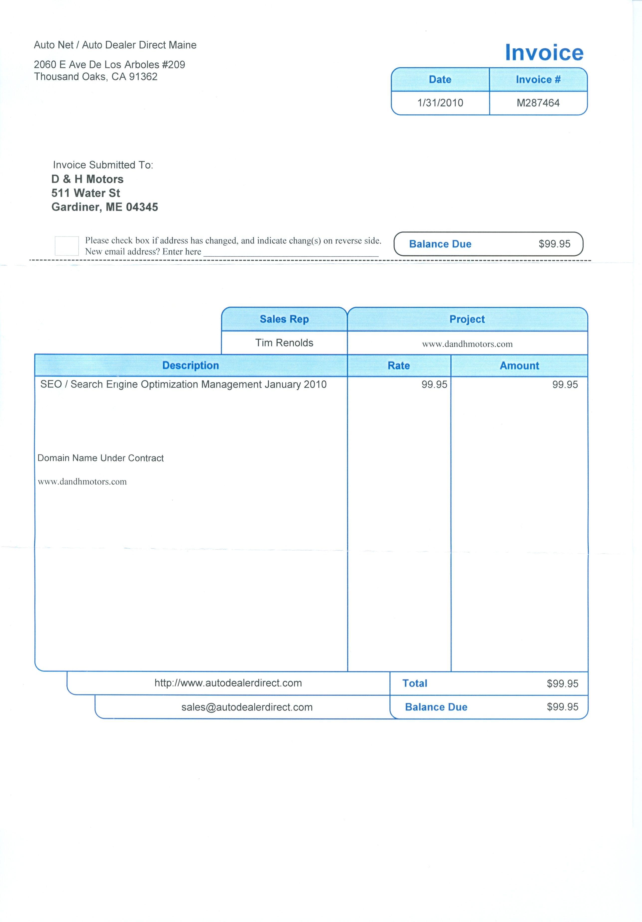 Auto Dealer Invoice Ripoff Report Auto Netauto Dealer Direct Maine Complaint Review 2574 X 3696 Invoice Template Car Dealer Toyota Dealers