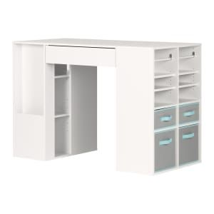 Crea Counter Height Craft Table Craft Tables With Storage Craft Table Craft Storage Cabinets
