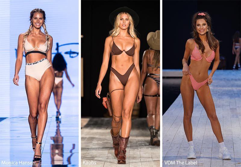 9cfae65448 Spring  Summer 2019 Swimwear Trends  Exposed Underwire Bikini Tops    Swimsuits