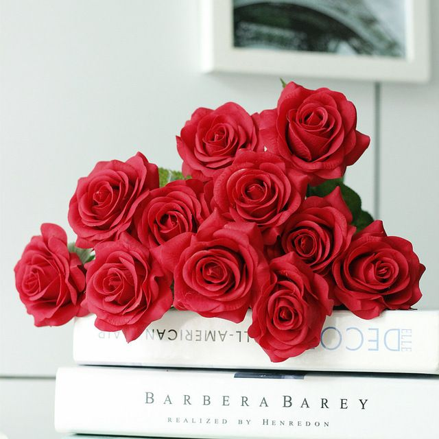 High quality low moq silk artificial flower real touch roses hot high quality low moq silk artificial flower real touch roses hot sale real touch flowers wholesale mightylinksfo