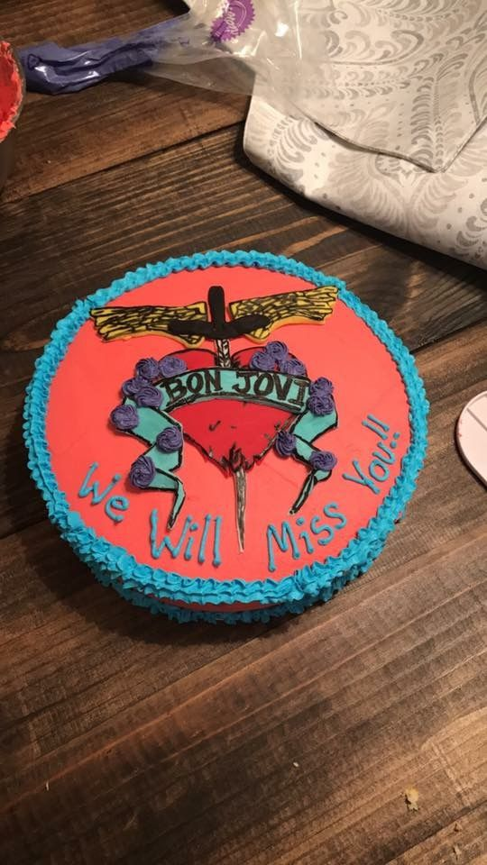 Bonjovi cake!