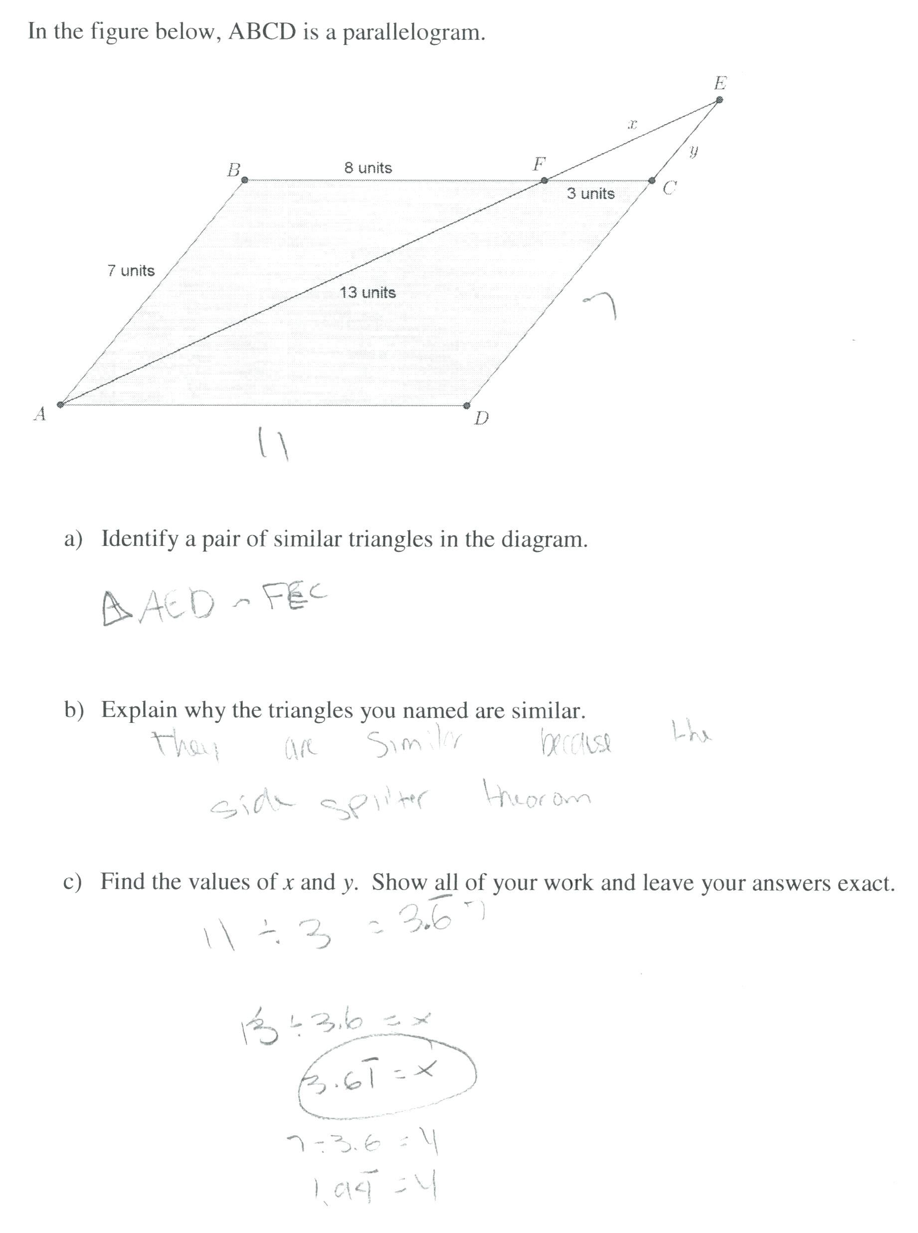 small resolution of Similar Figures Worksheet   Printable Worksheets and Activities for  Teachers