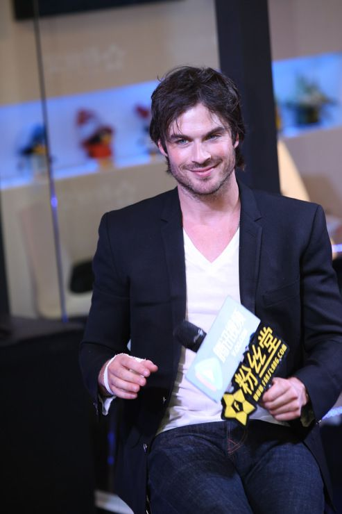 Ian Somerhalder - 20th Shanghai TV Festival - China, 11/06/04