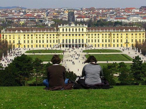 Schonbrunn, Vienna, Austria via