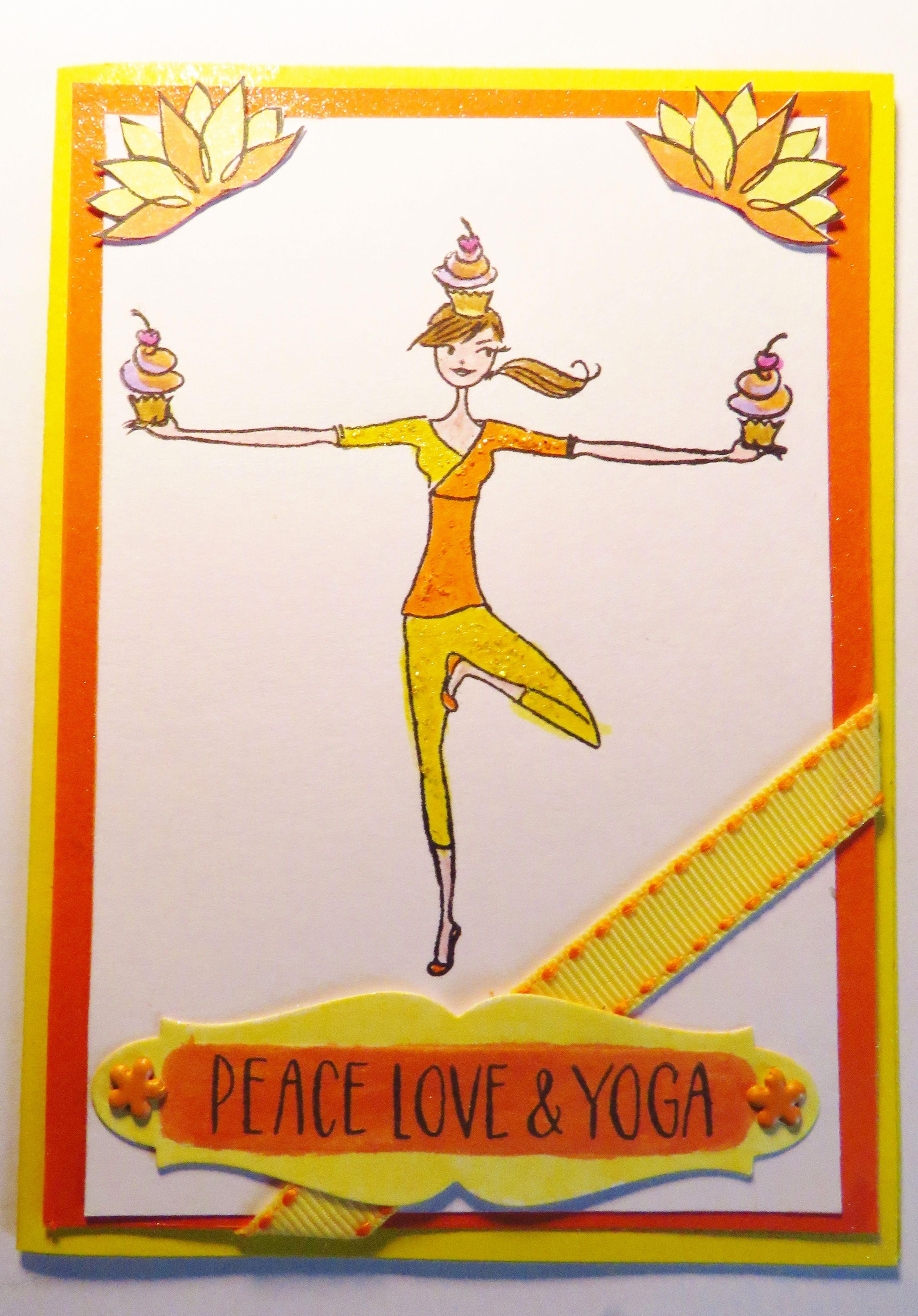 Birthday card for my yoga friend yoga friends