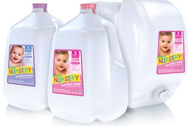 Nursery Water For Babies Purified With Added Fluoride Baby Kids