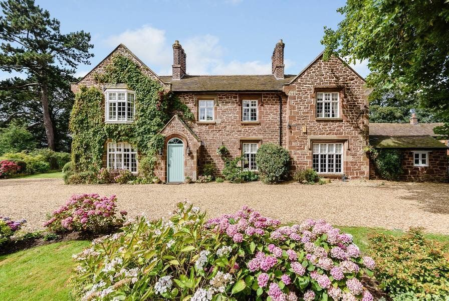 The Love Affair With The Rectory Country Home Exteriors Countryside House Old Country Houses