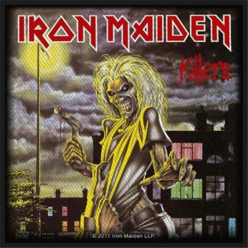 Official Licensed Iron Maiden Killers Sew On Patch Metal Eddie Ebay Iron Maiden Album Covers Iron Maiden Albums Iron Maiden