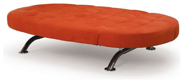 Lifestyle Solutions Capitola Convertible Lounger  - for M's room, in orange