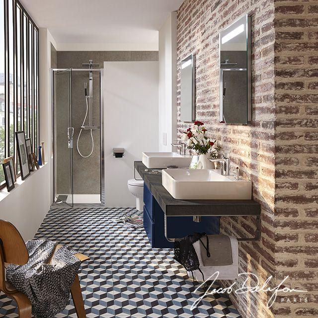 Une Salle De Bains Entre Style Industriel Et Atelier Vintage