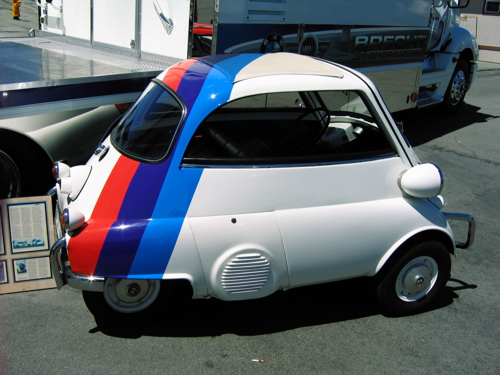 Some cars are just silly little ol isetta pictures