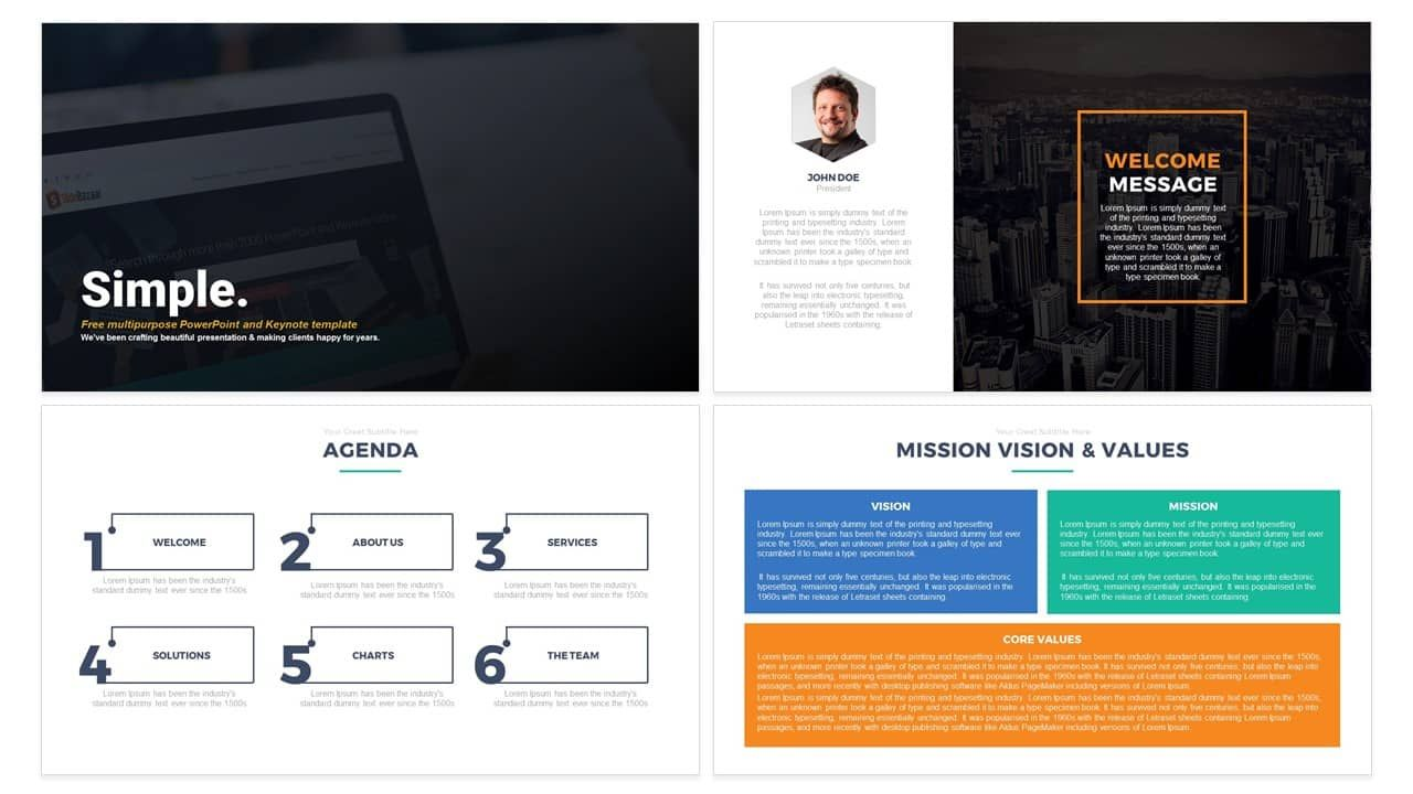 Pin By Slidebazaar On Free Powerpoint  Keynote Templates
