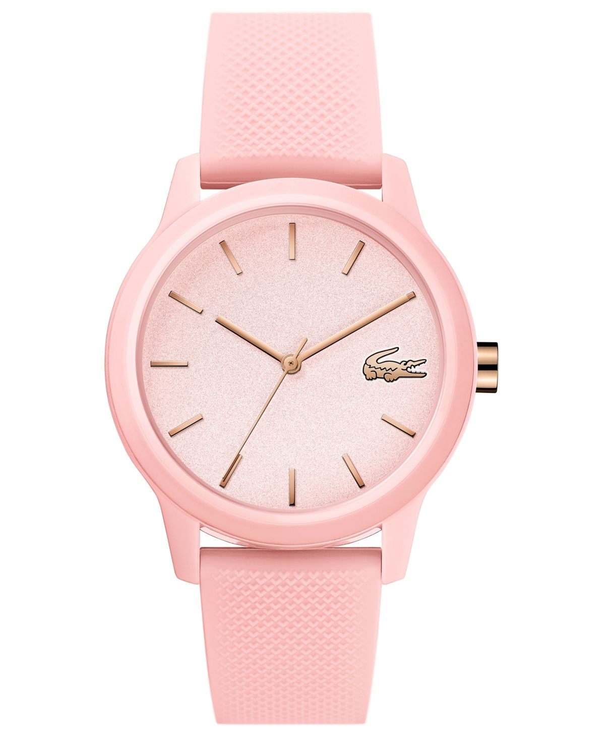 Photo of Lacoste Women's 12.12 Pink Rubber Strap Watch 36mm & Reviews – All Fine Jewelry – Jewelry & Watches – Macy's