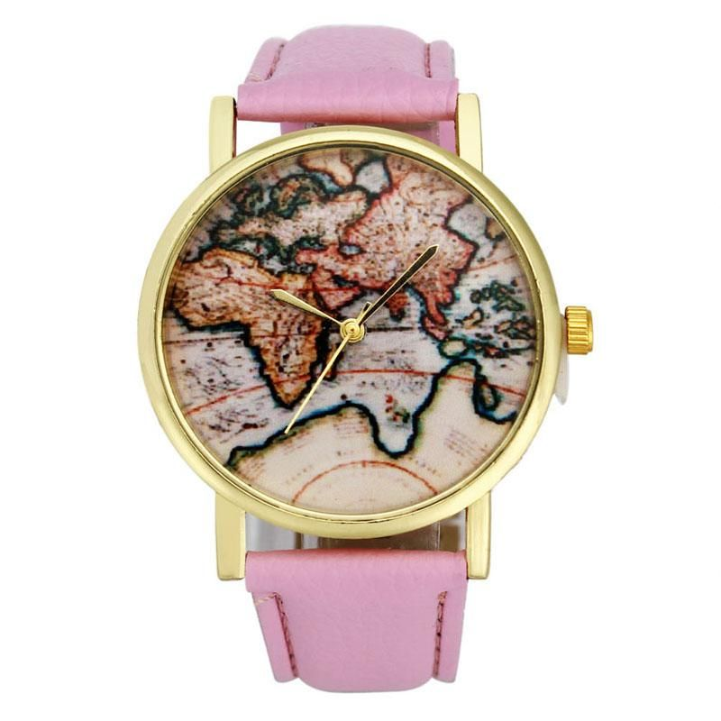 Women watch casual vintage earth world map watch alloy women analog women watch casual vintage earth world map watch alloy women analog quartz wrist watches watch relogio gumiabroncs Image collections