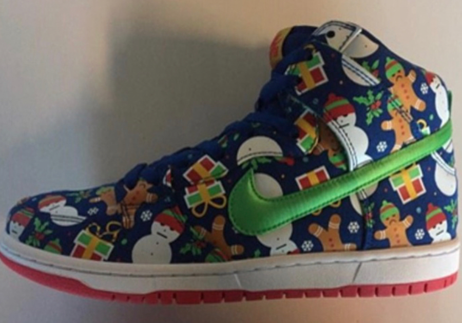 36ffb67a932caa First Look At The Concepts x Nike SB Dunk High Ugly Christmas Sweater