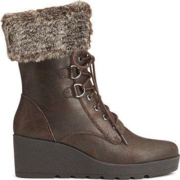 Womens Boots Aerosoles Color Range Dark Brown Combo