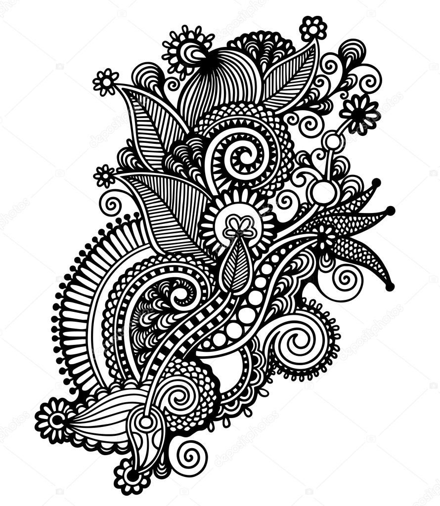 Image Result For Black Henna Vector Clipart Drawings Art Line Art