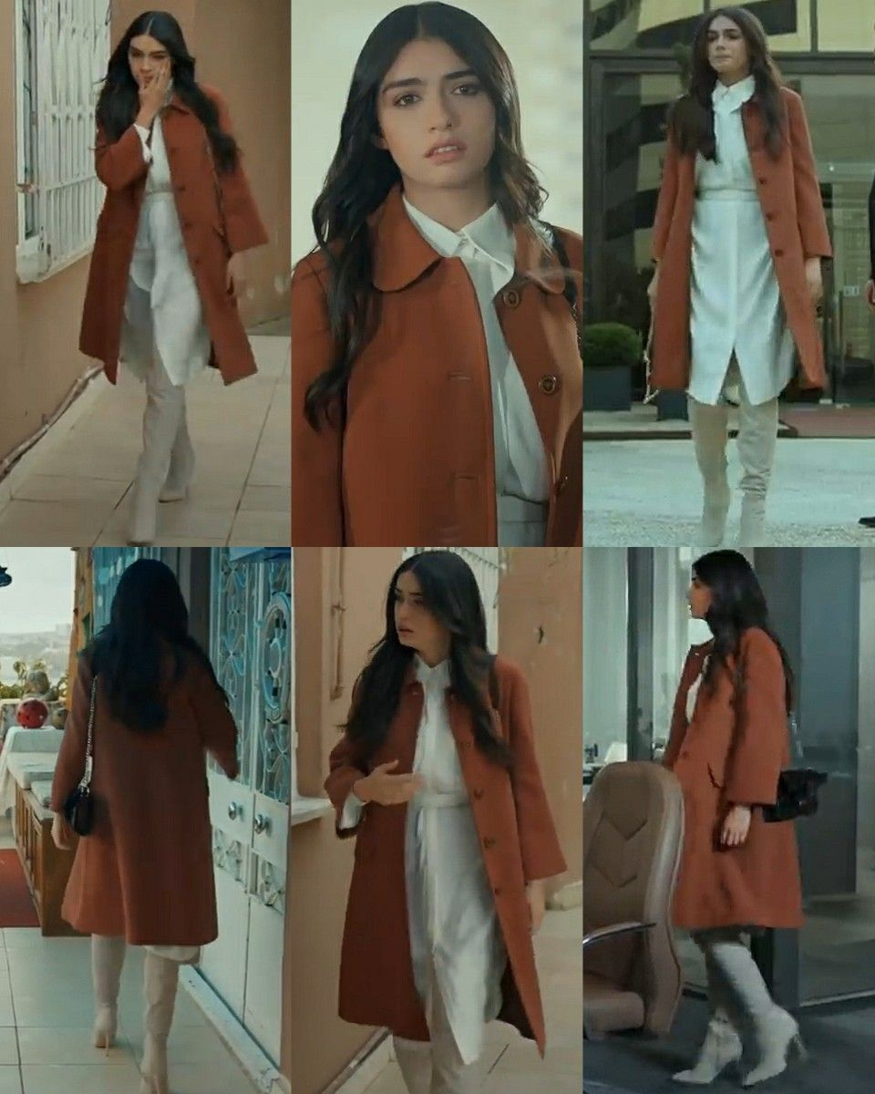 Cansu 18 Episode Yuksek Sosyete In 2021 Casual Work Outfits Work Casual Winter Fashion