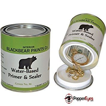 Most Burglars Won T Go Through The Old Paint Cans In Your Garage Or Shed Looking For Money Or Other Valuables To Plunder Diversion Safe Paint Cans