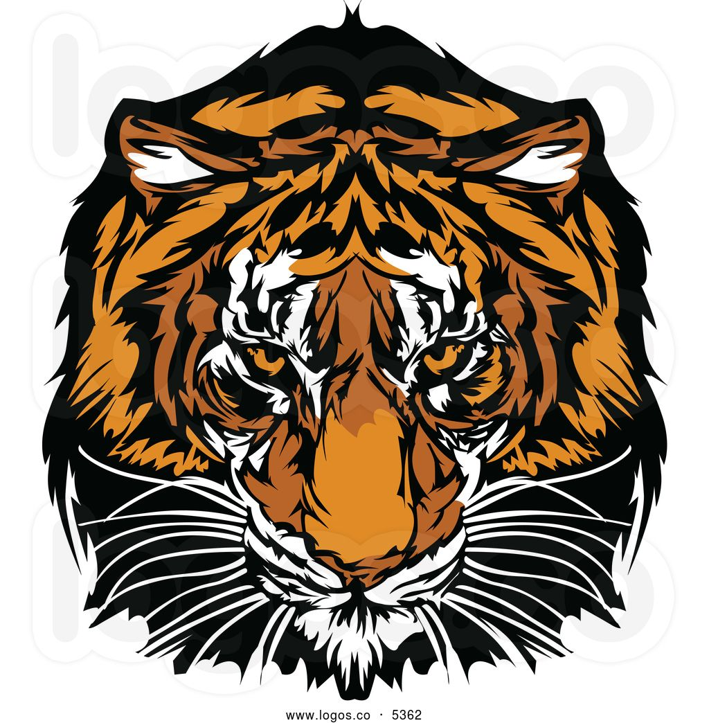 free-tiger-clip-art-royalty-free-vector-of-a-logo-of-a-tiger ...