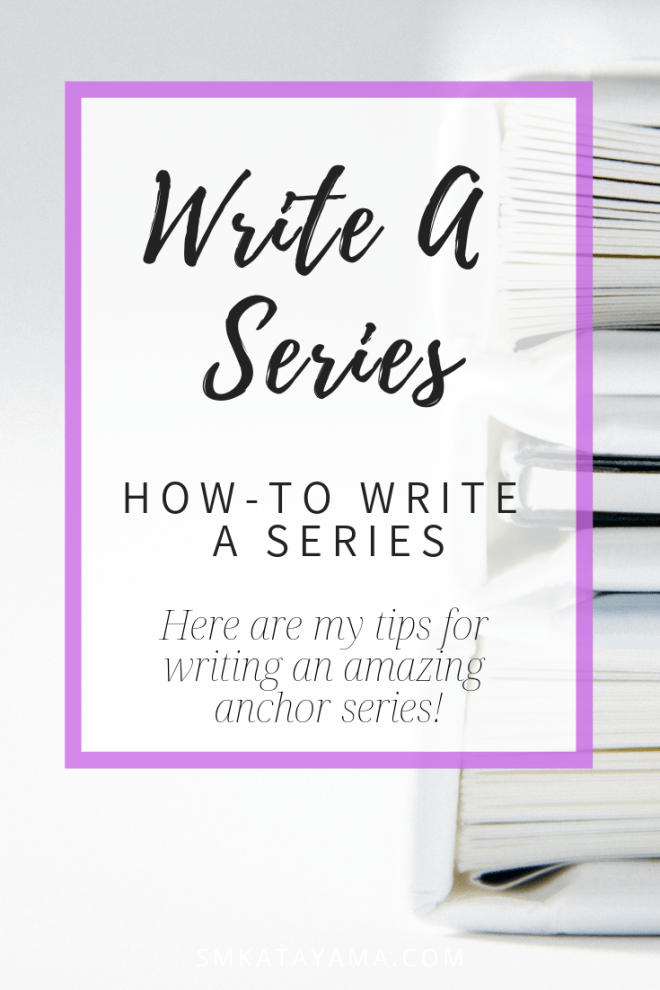 How To Write A Series Writting Escritura Libros Y