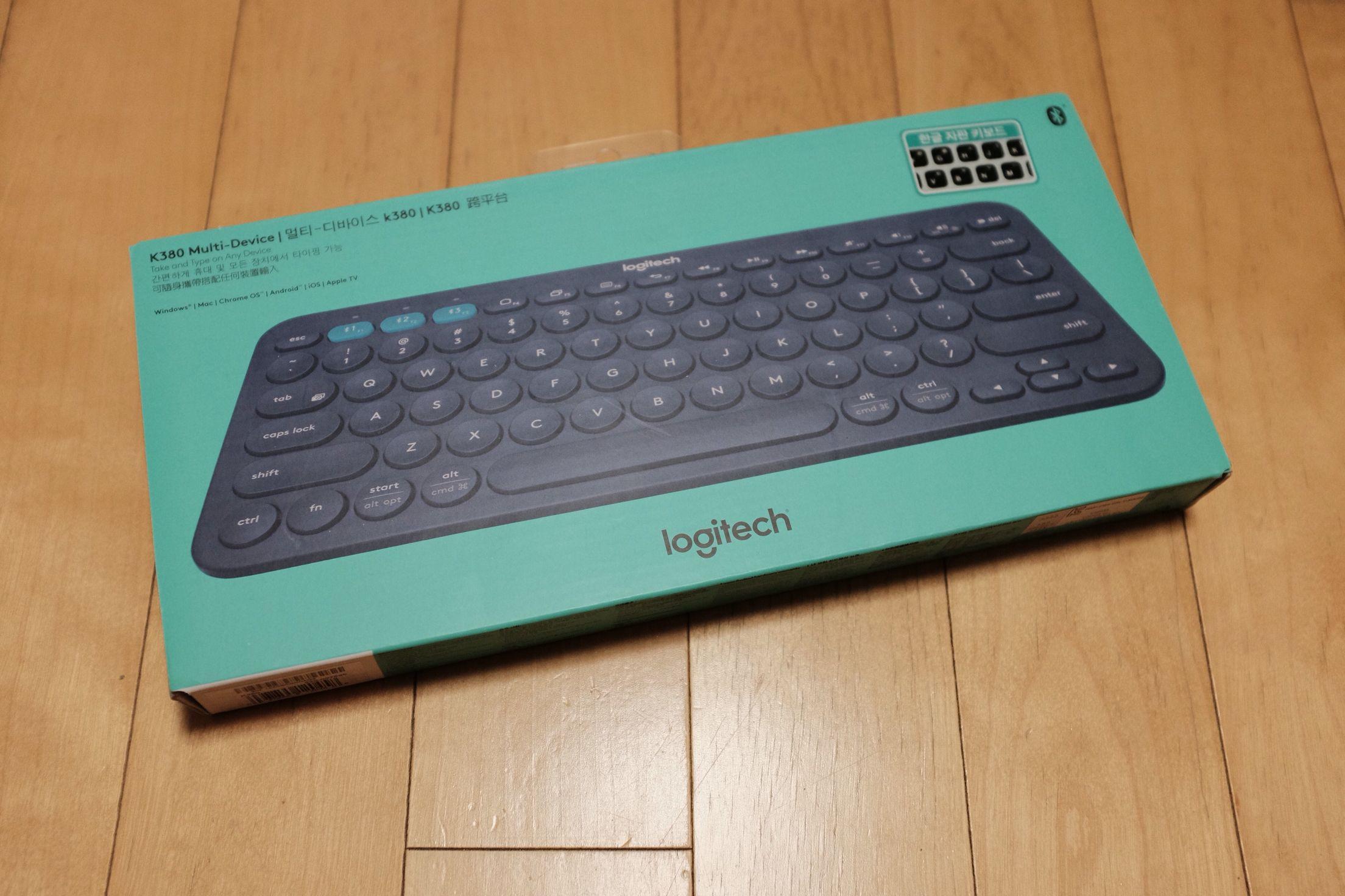 Logitech K380 Bluetooth Keyboard    Electronics   Bluetooth
