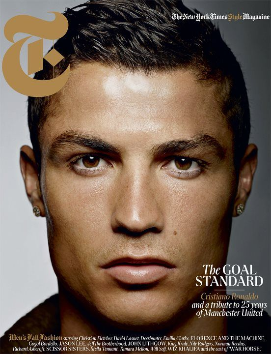 Cristiano Ronaldo for T The New York Times Style Magazine - Celeb Crunch