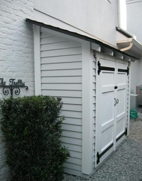 Schuppen Für Mülltonnen mülltonnenbox im garten - so machen sie die abfalltonnen unsichtbar