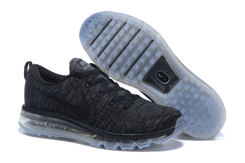 low priced fec9d 8d638 Air Max Flyknit Men s Running Shoe (Black Dark Grey Anthracite. Nike Air  Max Flyknit Women Black Gray Nike Shoes ...
