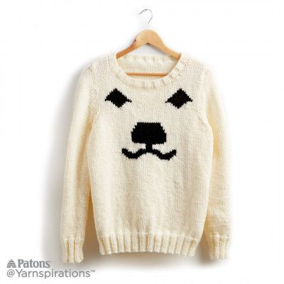 Free Intermediate Knit Sweater Pattern | Sweater Knitting Patterns ...