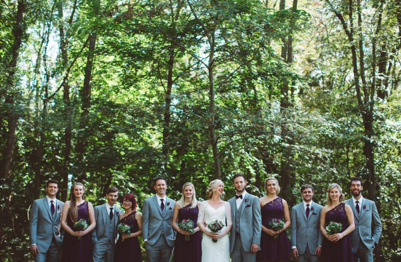 Rustic Backyard Wedding - Rustic Wedding Chic