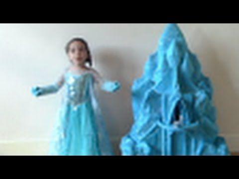 Elsa y Anna de Frozen muecas castillo Juguetes pequeas Anna