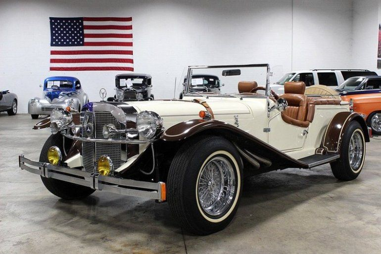 1929 mercedes benz gazelle convertible custom for Mercedes benz gazelle