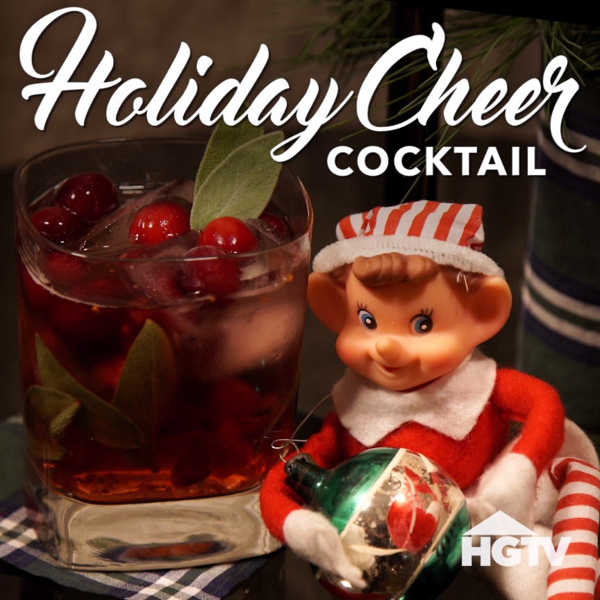 Holiday Cheer Cocktail Recipe