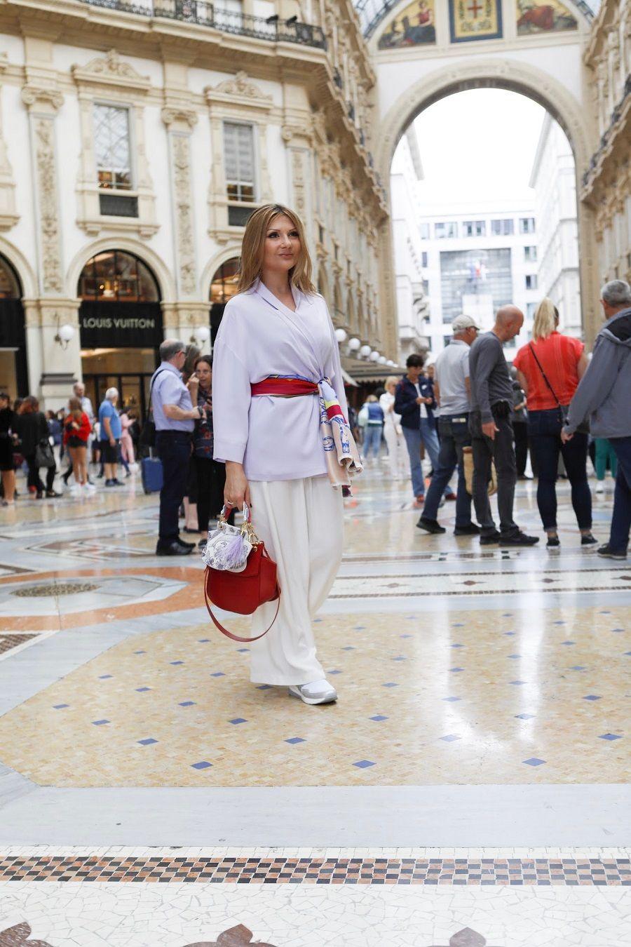 Il FOULARD must have moda 2020 Silk scarf fashion trend