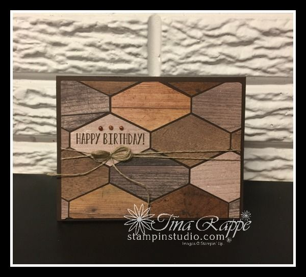 This is the perfect Masculine Card! - Stampin' Stu