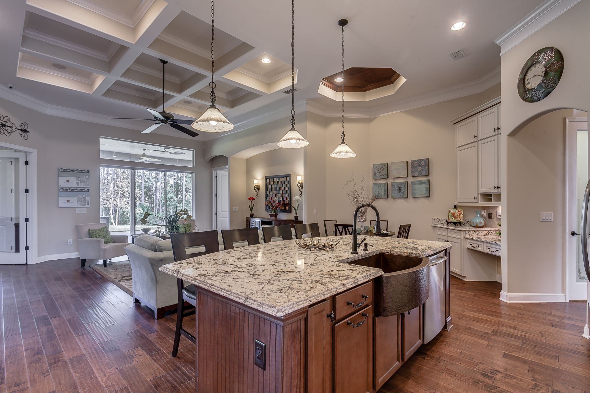 Model Kitchen the valencia ii model kitchen viewdream finders homes of the