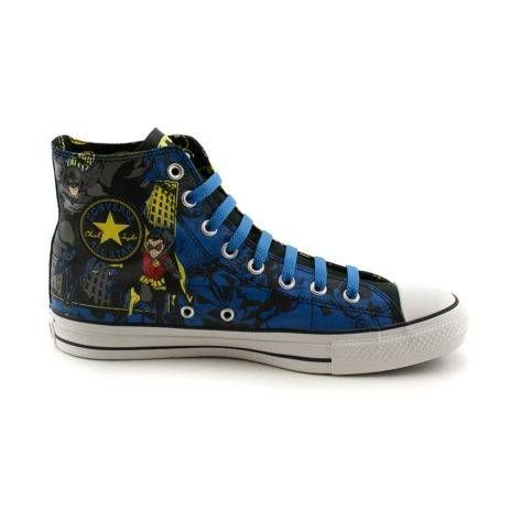 46908433d066  Shop for Converse All Star Hi Batman Athletic Shoe in Batman   Robin at  Journeys Shoes