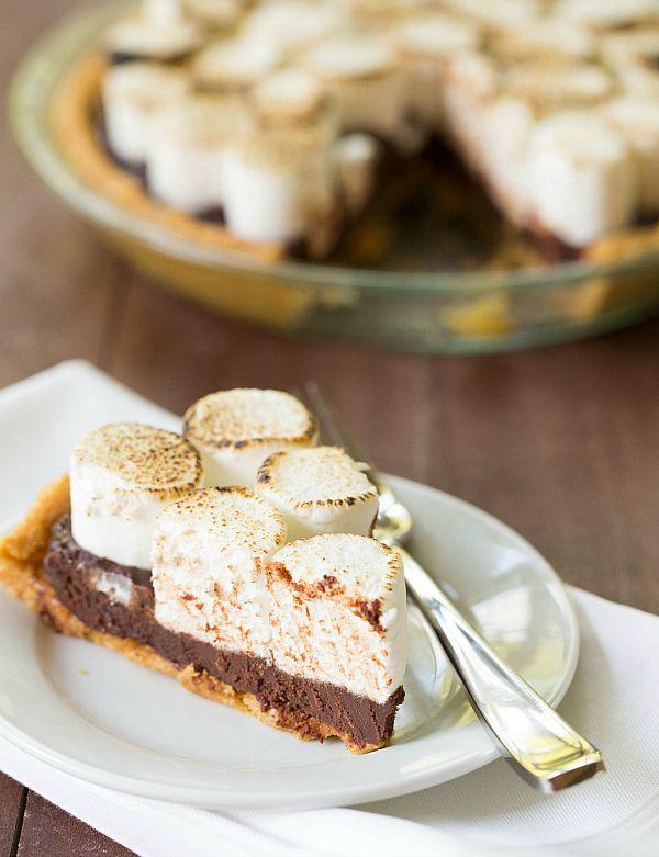 No-Bake S'mores Pie Recipe   Brown Eyed Baker