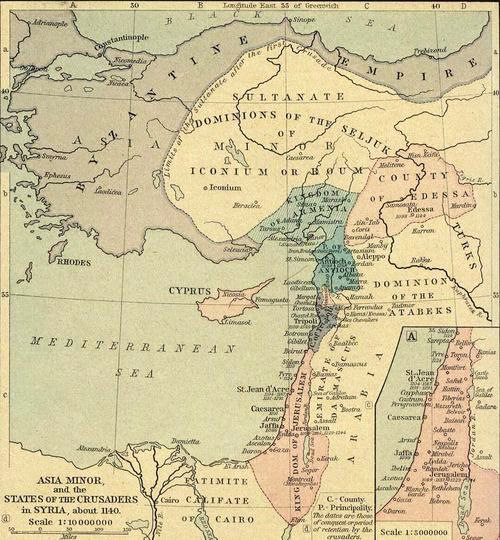 The Byzantine Empire in 1140